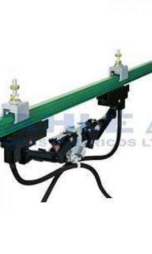 Barramento elétrico blindado para ponte rolante