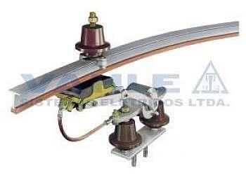 Painel elétrico com barramento