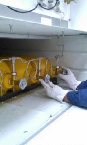 Central de geração de ar respirável automatizada