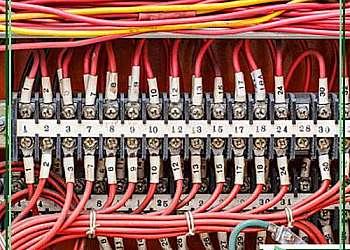 Quadro elétrico de distribuição