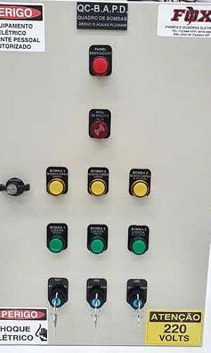 Painéis de comando eletrico